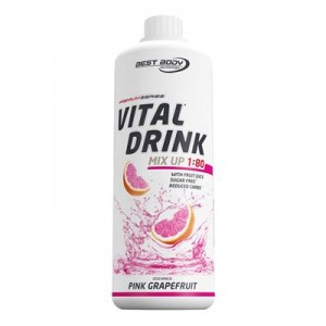 Best Body Nutrition Low Carb Vital Drink Pet 1000ml