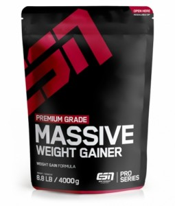 ESN Massive Weight Gainer 4000g, Vollkorn!