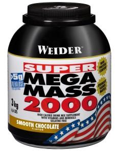 Weider Mega Mass 2000 Dose 3000g Pulver
