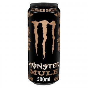Monster Energy Drink Mule Ginger Brew 500ml, zero Sugar mit 150mg Koffein