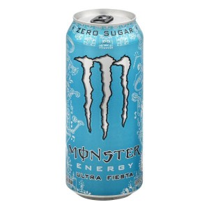 Monster Energy Drink Ultra Fiesta 500ml, zero Sugar mit 150mg Koffein