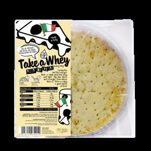 Take-a-Whey Pizza 200g, fertiger Pizzaboden, made in Italy! nur 18% Carbs, 1,5% Fett, 0 Zucker!