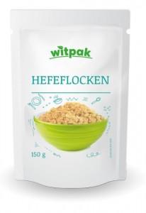 Witpak Hefeflocken 150g, 100% getrocknete inaktive Hefe