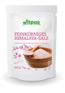 Witpak Himalaya-Salz 500g, feinkörnig
