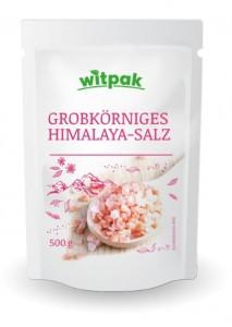 Witpak Himalaya-Salz 500g, grobkörnig