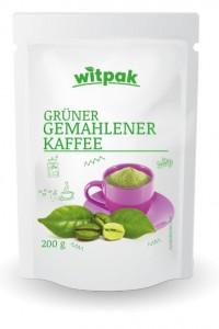 Witpak grüner gemahlener Kaffee 200g, Brasilien