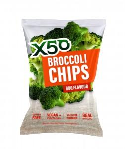 X50 Broccoli Chips 10x60g