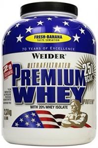 Weider Premium Whey Dose 2300g Pulver Fresh Banana