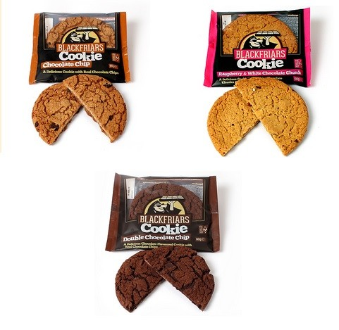 Blackfriars Cookie 60g Keks, mega lecker mit Biss! Double Choc Chips