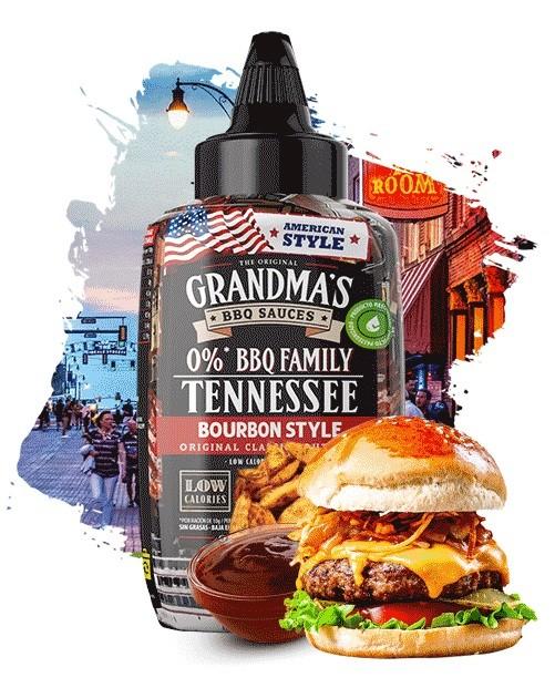 Max Protein The Original Grandma's BBQ Sauces 290ml Tennessee BBQ Bourbon Style