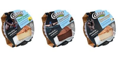 Cakees Sweet Protein Quarkkuchen 450g, low carb, low sugar! NEU 2020! Schoko-Quarkkuchen