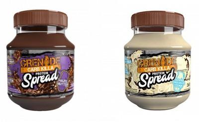 Grenade Carb Killa Protein Spread 360g, Schokocreme Aufstrich White Chocolate Cookie