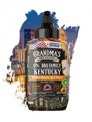 Max Protein The Original Grandma's BBQ Sauces 290ml Kentucky BBQ Honey & Cider