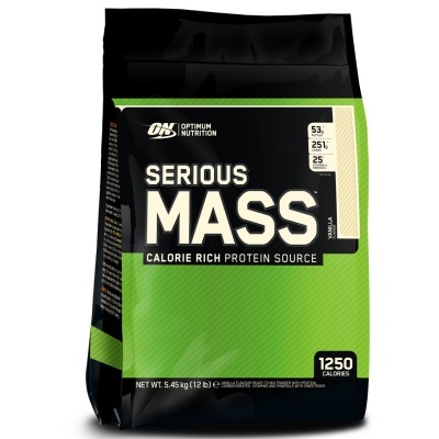 Optimum Nutrition Serious Mass 5,45kg Pulver